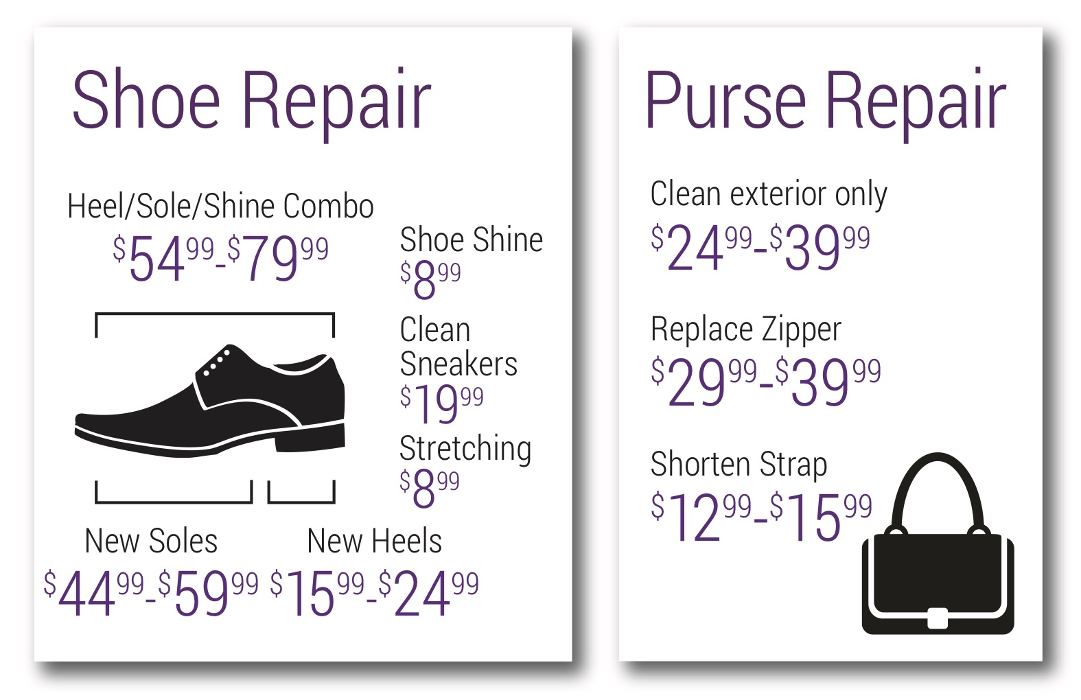 shoe and purse repair image